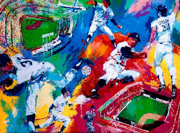Dodgers Centennial 1990  Limited Edition Print by LeRoy Neiman