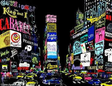 Lights of Broadway 2002 Limited Edition Print by LeRoy Neiman
