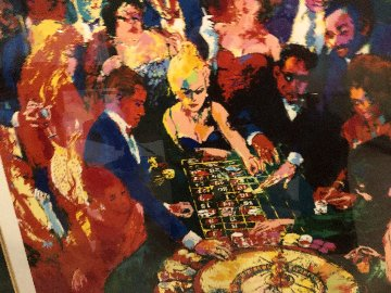 Roulette II Limited Edition Print by LeRoy Neiman