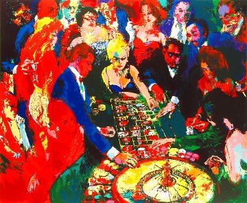 Roulette II AP 1996 Limited Edition Print - LeRoy Neiman