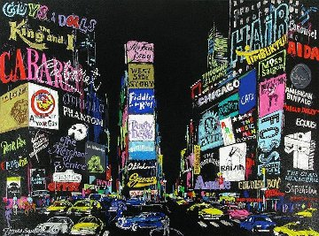 Lights of Broadway 2002 Limited Edition Print - LeRoy Neiman