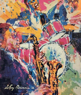 Kool Jazz 1988 HS Limited Edition Print by LeRoy Neiman