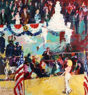 President's Birthday Party 1989 Limited Edition Print - LeRoy Neiman