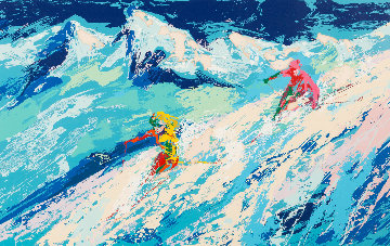 Downers AP 1975 Limited Edition Print - LeRoy Neiman