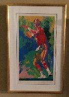 Quarterback of the 80's 1990 Joe Montana Limited Edition Print by LeRoy Neiman - 1
