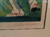 Quarterback of the 80's 1990 Joe Montana Limited Edition Print by LeRoy Neiman - 2