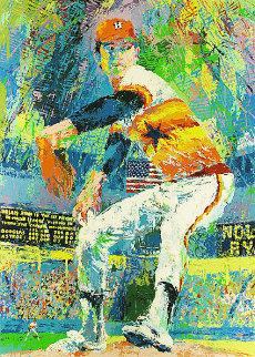 Nolan Ryan 1982 Limited Edition Print - LeRoy Neiman