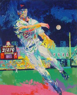 Carl Ripken At Camden Yards 2000 Limited Edition Print - LeRoy Neiman