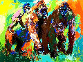 Gorilla Family AP Limited Edition Print - LeRoy Neiman