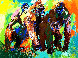 Gorilla Family AP Limited Edition Print by LeRoy Neiman - 0
