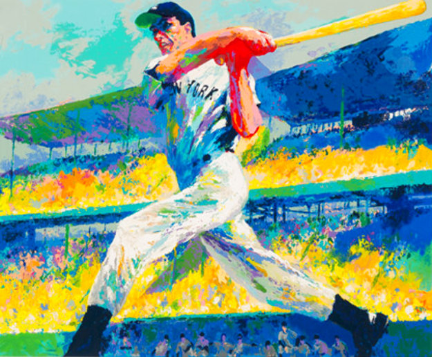 Dimaggio Cut Limited Edition Print by LeRoy Neiman