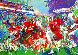 Post Season Football Classic 1985 Limited Edition Print by LeRoy Neiman - 0