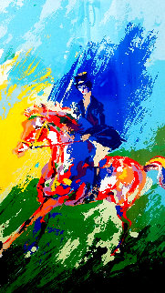 Equestrienne 1975 Limited Edition Print - LeRoy Neiman