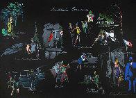 Le Nuit De Paris 1980 Limited Edition Print by LeRoy Neiman - 0