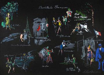 Le Nuit De Paris 1980 Limited Edition Print - LeRoy Neiman