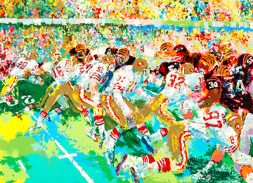Silverdome Super Bowl  1984 Limited Edition Print - LeRoy Neiman