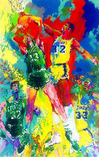 Magic Johnson AP Limited Edition Print - LeRoy Neiman