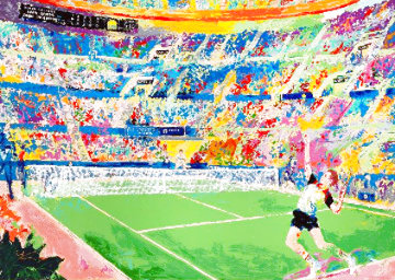 Volvo Tennis Classic 1983 Limited Edition Print - LeRoy Neiman