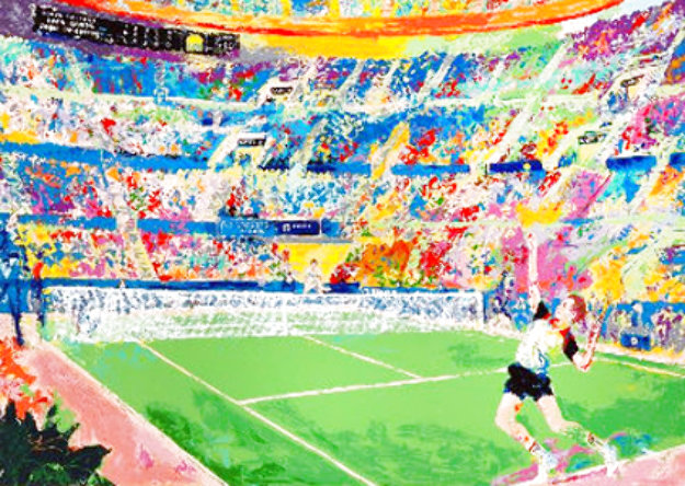 Volvo Tennis Classic 1983 Limited Edition Print by LeRoy Neiman