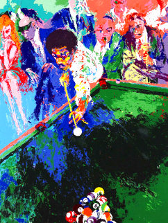 Black Break Limited Edition Print - LeRoy Neiman