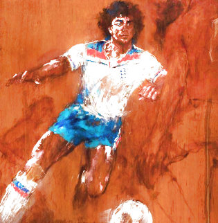 Kevin Keegan 1982 Limited Edition Print - LeRoy Neiman