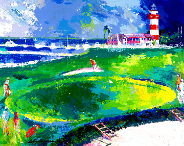 18th At Harbourtown 1992 Limited Edition Print - LeRoy Neiman