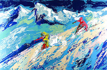 Downers 1974 Limited Edition Print - LeRoy Neiman