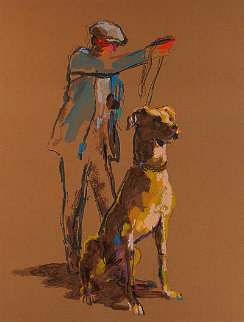 Great Dane 1987 Limited Edition Print - LeRoy Neiman