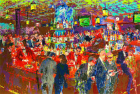 Harry's Wall Street Bar 1985 Limited Edition Print by LeRoy Neiman - 1