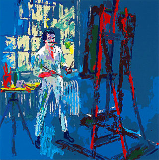 Self Portrait #1 1990 Limited Edition Print - LeRoy Neiman
