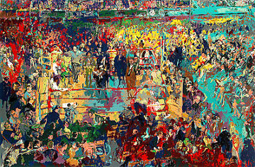 Introduction of the Champions At Madison Square Garden Limited Edition Print - LeRoy Neiman