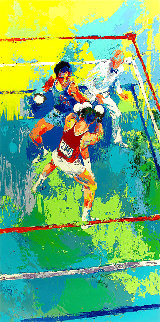 Olympic Boxing, Moscow 1980 Limited Edition Print - LeRoy Neiman
