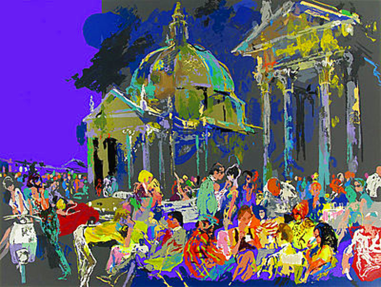 Piazza Del Popolo - Rome #1 1988 Limited Edition Print by LeRoy Neiman
