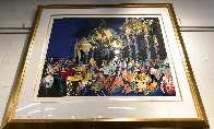 Piazza Del Popolo - Rome #1 1988 Limited Edition Print by LeRoy Neiman - 1
