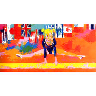 Olympic Gymnast Limited Edition Print - LeRoy Neiman