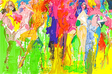 Panteras 1981 Limited Edition Print - LeRoy Neiman