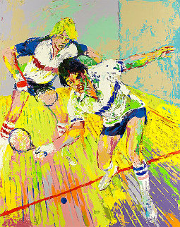 Racquetball 1981 Limited Edition Print - LeRoy Neiman