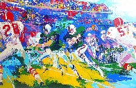 Rushing Back AP 1974 Limited Edition Print by LeRoy Neiman - 0