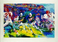 Rushing Back AP 1974 Limited Edition Print by LeRoy Neiman - 1