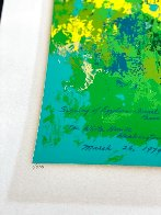 White House Signing of the Egyptian-Israeli Peace Treaty 1980 Limited Edition Print by LeRoy Neiman - 1