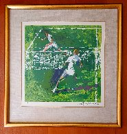 Tennis Players 1971 Limited Edition Print by LeRoy Neiman - 1