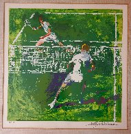 Tennis Players 1971 Limited Edition Print by LeRoy Neiman - 2