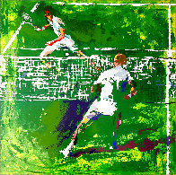 Tennis Players 1971 Limited Edition Print by LeRoy Neiman - 0