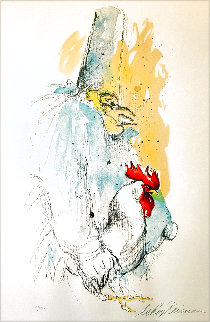 Punchinello 1972 Limited Edition Print - LeRoy Neiman