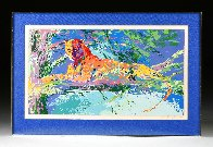 Kenya Leopard AP Limited Edition Print by LeRoy Neiman - 1