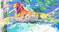 Kenya Leopard AP Limited Edition Print by LeRoy Neiman - 0