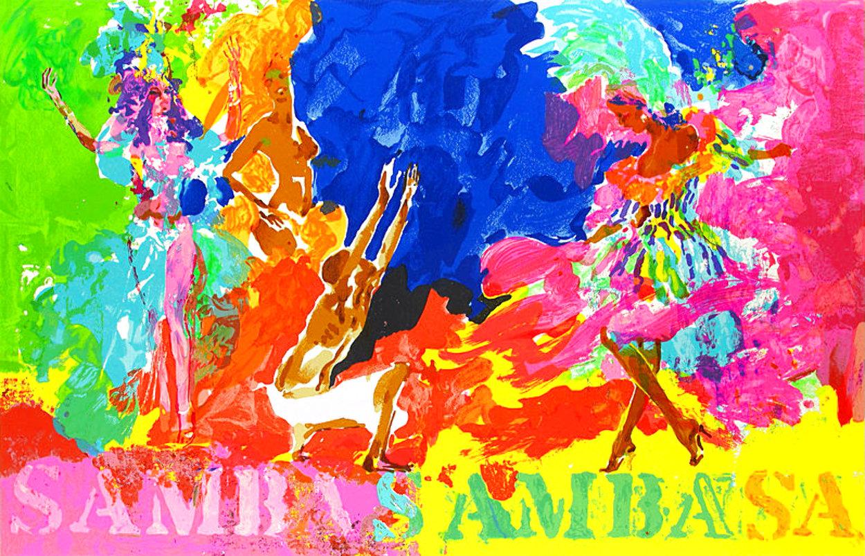 Samba Samba 1981 Limited Edition Print by LeRoy Neiman