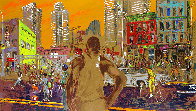 Harlem Streets - Cities in Schools 1982 Limited Edition Print by LeRoy Neiman - 0