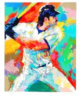 Mike Piazza 2000 Limited Edition Print by LeRoy Neiman - 1