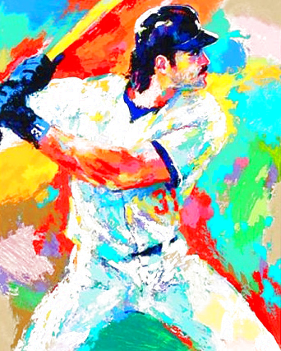 Mike Piazza 2000 Limited Edition Print by LeRoy Neiman